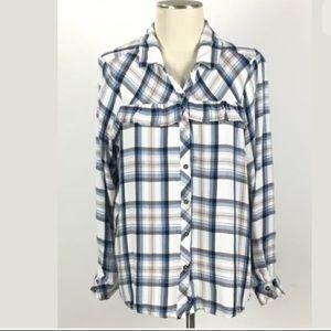 Knox Rose Tops - Knox Rose Plaid shirt